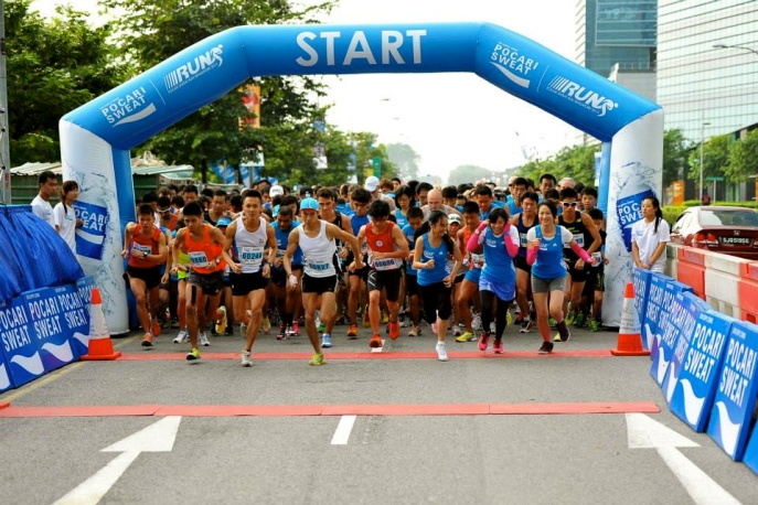Photo credits: Pocari Sweat Singapore