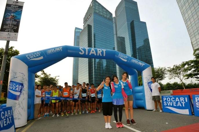 Photo credits: Pocari Sweat Singapore