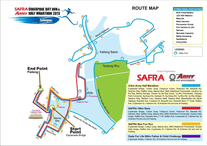 Photo Credits: SAFRA Singapore Bay Run & Army Half Marathon