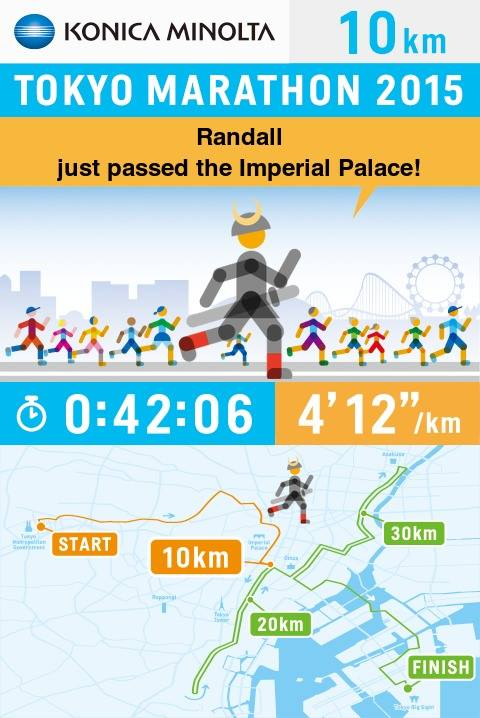 My first 10km was a tad too fast!