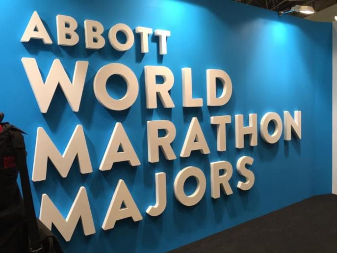 My first of 6 World Marathon Majors
